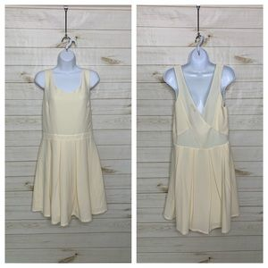 Cream sundress by American Eagle Outfitters
